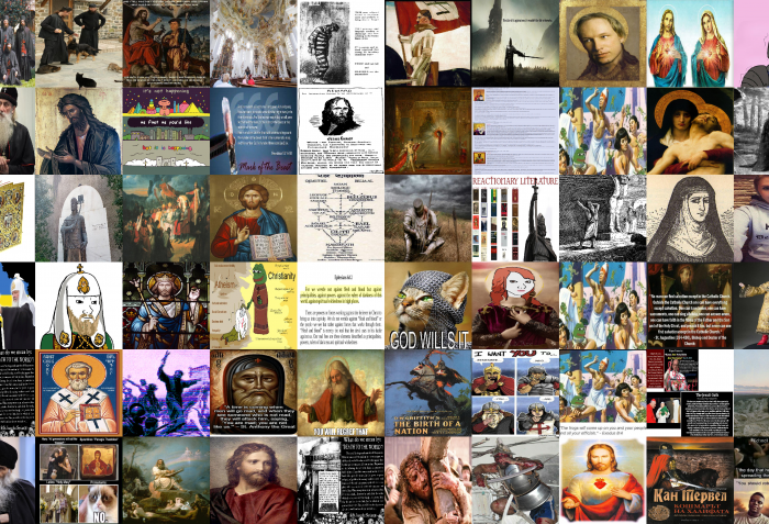 4chan/pol/ images tagged as 'Christianity'