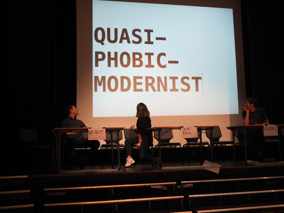 Political compass: Quasi-phobic modernist