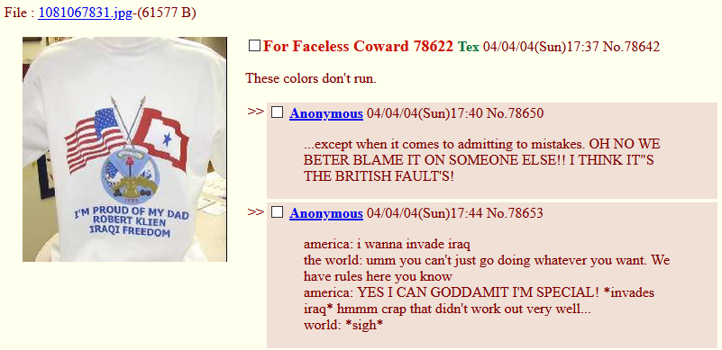 4chan/b/ politics in the Penfifteen archive