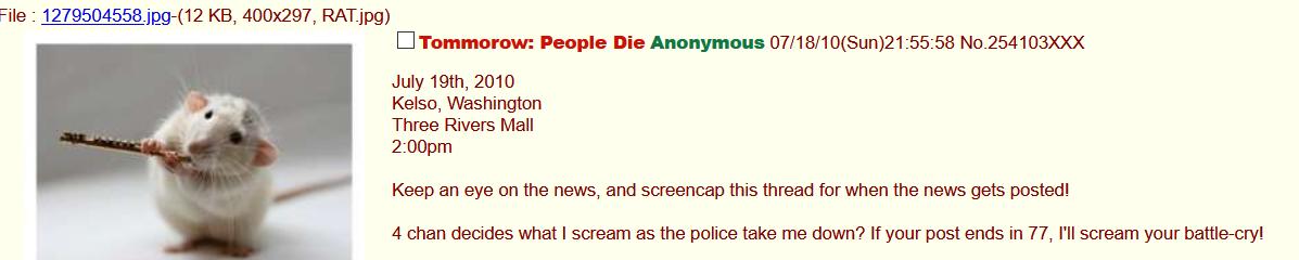 death threads on 4chan/b/