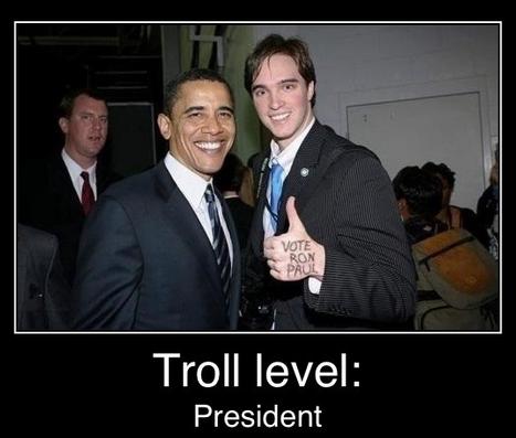 Libertarian trolling of Obama
